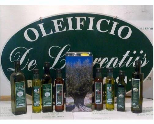 Assortimento prodotti. Prodotti Oleificio De Laurentiis