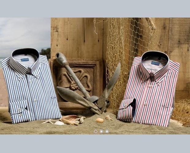 Camicie Maschili. Produzione artigianale Italiana