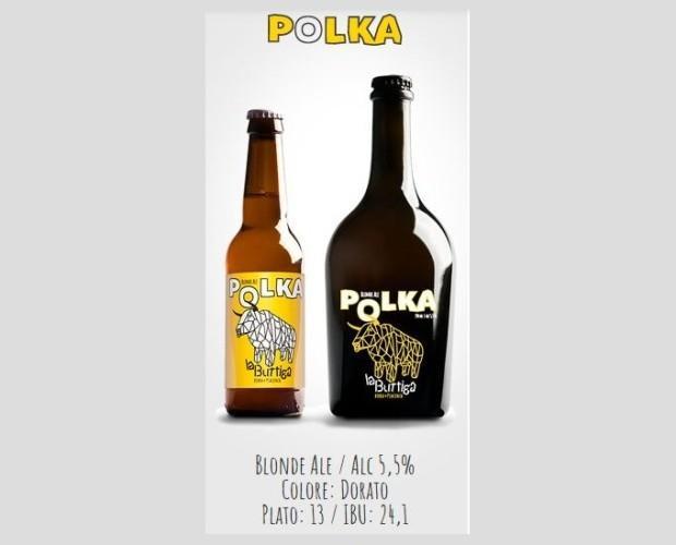PolkaJPG. Produzione artigianale di birra in stile Blond Ale
