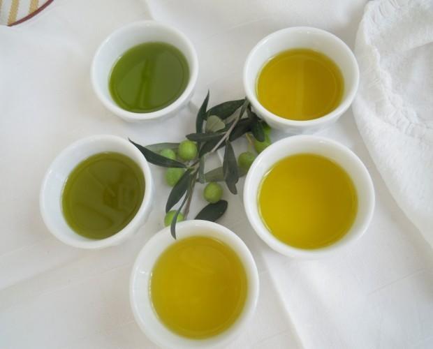 Oli alimentari. Olio di oliva Sagnolo e Greco