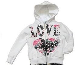 Abbigliamento per Bambini.Felpa bambina Love