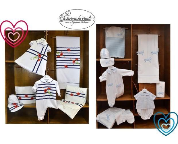Sartoria dei Piccoli. Abbigliamento per neonati