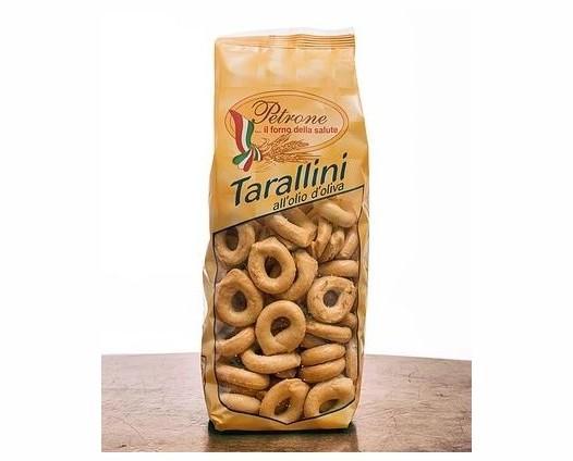 Tarallini EVO. Tradizionali all'olio d'oliva.