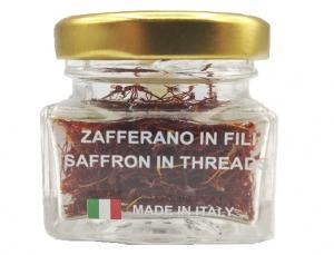 Confezione di zafferano puro da 1 grammo