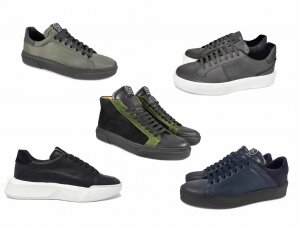 Sneakers Tony Wild calzature in Vera Pelle