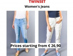 STOCK JEANS DONNA TWINSET