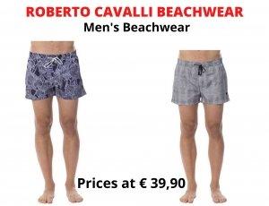 STOCK COSTUMI DA BAGNO UOMO ROBERTO CAVALLI BEACHWEAR