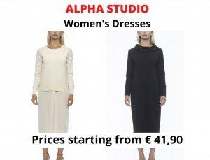 STOCK ABITI DONNA ALPHA STUDIO