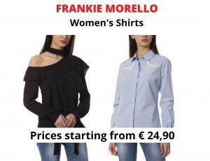 STOCK CAMICIE DONNA FRANKIE MORELLO
