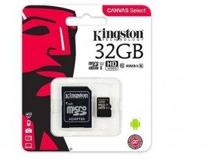 Scheda di memoria Kingston microSDHC  32 GB UHS-I classe 10