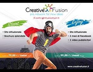 Sito web + Brochure aziendale con formula NOLEGGIO OPERATIVO