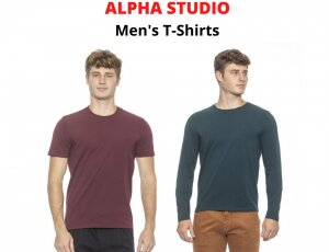 STOCK T-SHIRT UOMO ALPHA STUDIO