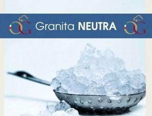 Granita Neutra per Granitore al 50% di Sconto