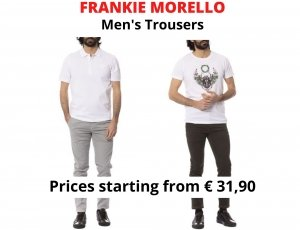 STOCK PANTALONI UOMO FRANKIE MORELLO