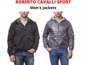 STOCK CAPISPALLA UOMO ROBERTO CAVALLI SPORT