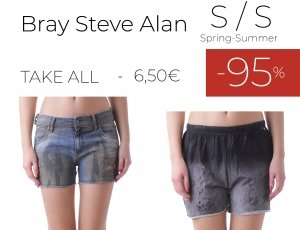 STOCK 126 SHORTS DONNA BRAY STEVE ALAN S/S