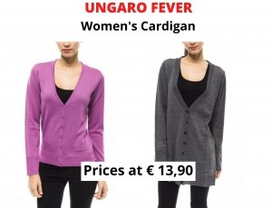 STOCK CARDIGAN DONNA UNGARO FEVER