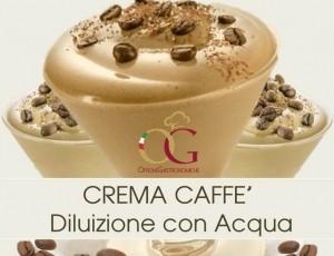 Crema Caffè Diluizione con Acqua al 50% di Sconto