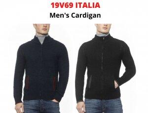 STOCK CARDIGAN UOMO 19V69 ITALIA