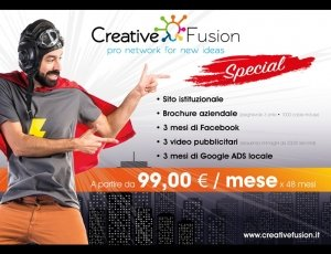 Sito web + Brochure + Video + Facebook + Google ADS