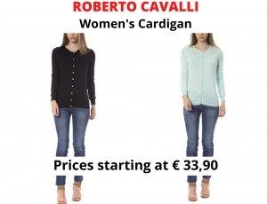 STOCK CARDIGAN DONNA ROBERTO CAVALLI