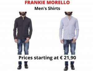 STOCK CAMICIE UOMO FRANKIE MORELLO
