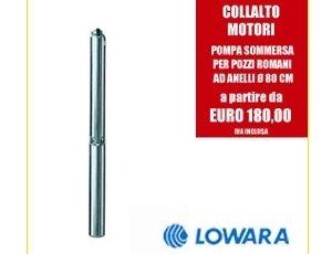 Pompa sommersa per pozzi romani Lowara
