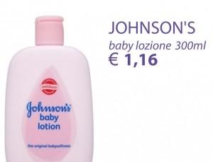JOHNSON'S BABY LOZIONE 300ML € 1.16