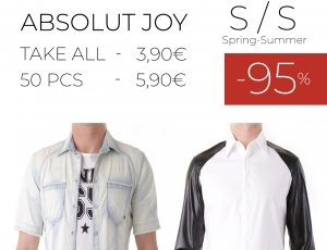 STOCK 93 UOMO CAMICIE ABSOLUT JOY S/S