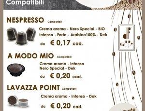 OFFERTA CAFFE' ARTIGIANALE