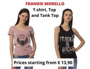 STOCK T-SHIRT, TOP E CANOTTE DONNA FRANKIE MORELLO.