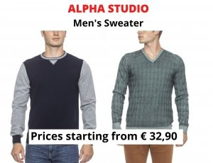 STOCK MAGLIE UOMO ALPHA STUDIO
