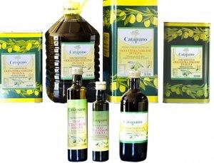 Olio extra vergine di oliva com. bottiglie lattine sfuso