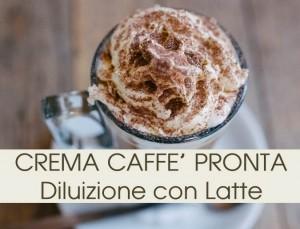 Crema Caffè 10 buste al 50%