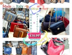 Stock Borse Donna Made In Italy