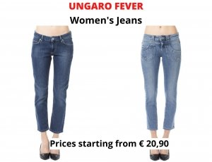 STOCK JEANS DONNA UNGARO FEVER