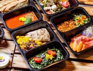 Piatti pronti freschi gastronomici monoporzioni e vassoi