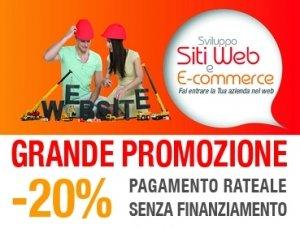 CREAZIONE SITO WEB SCONTO DEL 20%