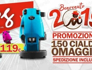 Didiesse Frog a 119 € + 150 Cialde Regalo Spedizione Gratis!