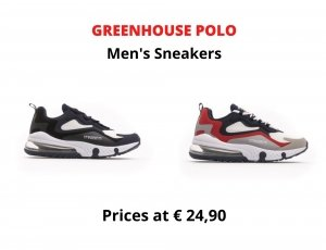 STOCK SNEAKERS UOMO GREENHOUSE POLO