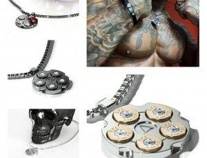 Proiettili da indossare. Brand di gioielli Made in Italy