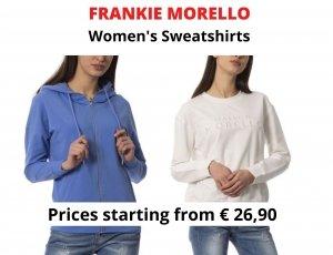 STOCK FELPE DONNA FRANKIE MORELLO