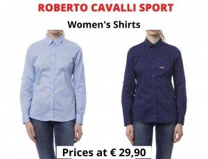 STOCK CAMICIE DONNA ROBERTO CAVALLI SPORT