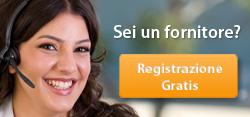 Registrazione gratuita dell'azienda